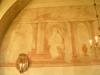 Målningar på korets norra vägg.