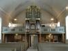 Den vackra orgelfasaden