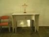Litet altare i korets sydsida