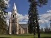 Hidinge nya kyrka från östsidan