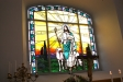 Altartavlan är en glasmålning