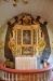 Altartavlan från 1739 är nu åter på sin rätta plats