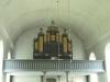 Orgelfasaden till Pehr Schiörlins verk som 1982 byttes ut och 1955 om- och tillbyggdes.