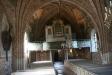 Vackert tak och orgel
