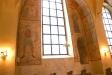 Kyrkan från koret mot entrén.