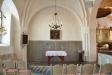 Litet och intimare kyrkorum i norra korsarmen
