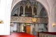 Kyrkan orgel ombyggd 1935 omfattar 22 stämmor