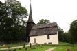 Kyrkan från söder.
