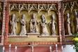 Närbild på altarskåpets mittsektion