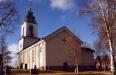 Kyrkan sett från koret.