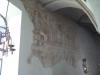 Fragment av kalkmålningar.
