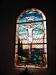 Fönster i koret.