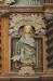 På predikstolen: Johannes med örnen i en ovanlig pose.