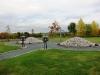 Nyanlagd minnesplats 2013.