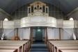 Orgeln med 21 stämmor invigdes 1995