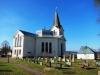 Stilfull och vacker extriör på hela kyrkan
