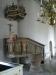 Predikstolen är från 1640-talet