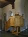 Predikstol av okänt datum och ursprung