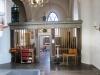 Till höger om altaret ligger detta vackra utrymme som kallas Mariakapellet.