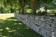 Muren med utskjutande stenar