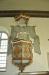 Skulpturer föreställande S Katarina t.v. och ev. S. Brigida t.h.?