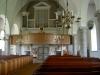 Orgelläktare under ljusa valv..Foto:Bernt Fransson