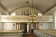 Orgelfasaden är ritad av O.A.Mankell 1869