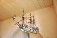 Votivskepp från 1690 är en modell av ett holländskt örlogsfartyg