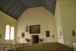Här syns den gamla altartavlan från 1600-talet