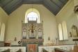 Den gamla predikstolen från 1700-talet finns bevarad