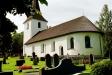 Nye kyrka i sommartid från söder.Foto:Bernt Fransson
