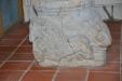 Dopfunten och dess fundament med lejon och lamm i frid från 1100-tal av Mårten Stenmästare