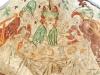 Den rike mannen omgiven av tre damer. Han har en dolk i handen. Foto Stig Alenäs