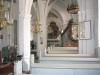 Everlöv kyrkas vackra interiör