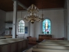 Altaret med fönster av Hugo Gehlin.