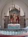 Altaret med kopia av ´Christus Consolator´.