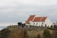 Sankt Ibbs Gamla kyrka i vinterskrud