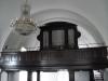 Interiör mot orgelläktaren i öster.