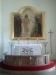 Altartavlan där Jesus kallar fiskare i Saxemara.