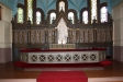 Altaruppsatsen.