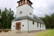 Kyrkans entré Juni 2016.