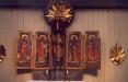 Altarskåp med influenser från medeltiden