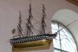 Tremastad örlogsfartyg  med namnet ´Strömstad´