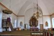 Predikstolen kommer från den gamla kyrkan