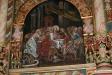 En bild i altartavlan.