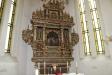 Altaruppsatsen är imponerande