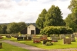 Kapellet vid bortre änden av kyrkogården