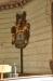Begravningsvapen höljt i dunkel i dubbel bemärkelse
