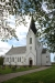 En vacker och ljus kyrka i både exteriör och interiör. 2016-05-15