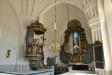 Altaruppsats av Jon Göransson Westman och korfönster av Bengt Hamrén
